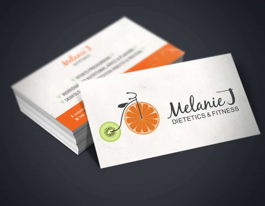 Melanie nutritionist logo business cards front sarah rose design melanie nutritionist logo business cards front colourmoves