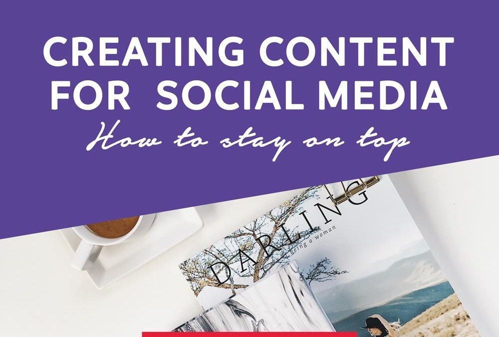 How to Tackle Social Media and Remain Consistent