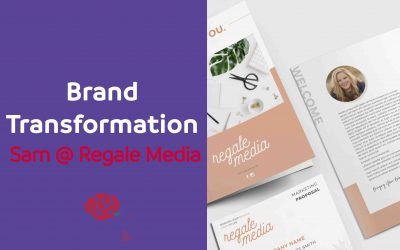 Brand Transformation – Sam @ Regale Media